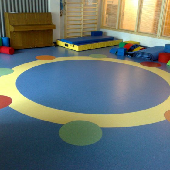 Rubber Vinyl Flooring